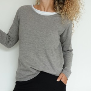 Sweater Basics Grey