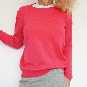 Sweater Dots Pink
